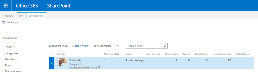 sharepoint 2013 community site tutorial