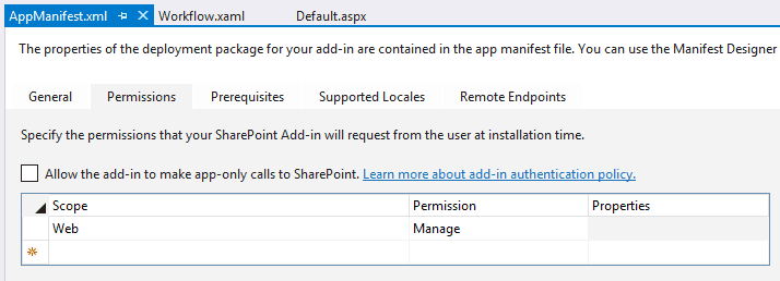 how to create workflow in sharepoint 2013 using visual studio