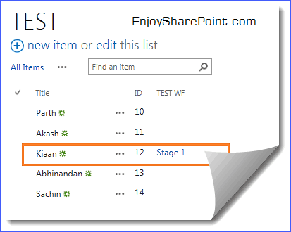 Start a workflow with SharePoint 2013 using Rest API jQuery