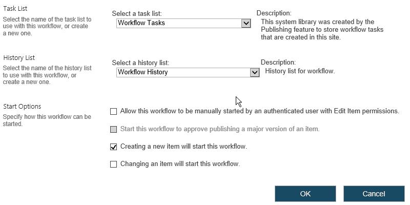 List does not exist SharePoint designer workflow error