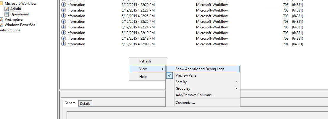 sharepoint 2013 workflow debugging