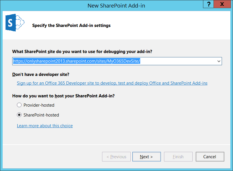 SharePoint hosted apps demo