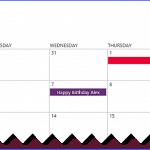 sharepoint online calendar overlay colors
