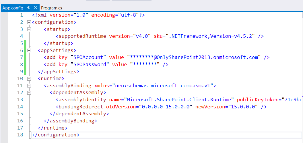 clientcontext credentials sharepoint online