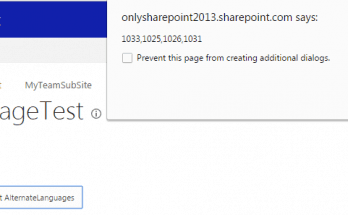 get alternate languages from language settings in SharePoint online using Rest API