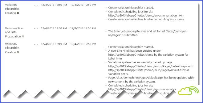 SharePoint 2013 Multi-Language Variation Site