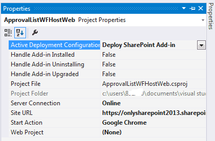 SharePoint 2016 visual studio 2015 workflow