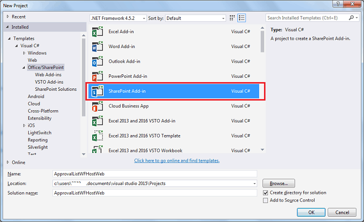 SharePoint visual studio workflow