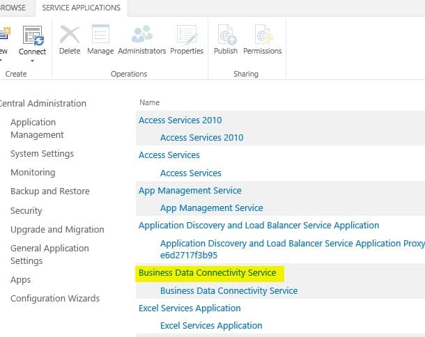 sharepoint 2013 connect to sql server