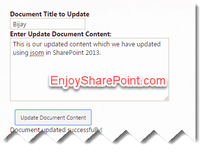 update file content using javascript in sharepoint