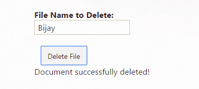 Create and delete file using Rest API in SharePoint 2016