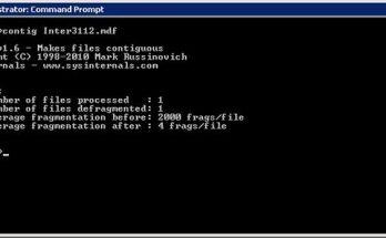 SQL Server Physical File Fragmentation Complete Guide
