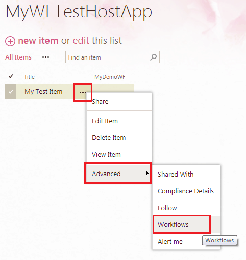 visual studio 2015 sharepoint 2016 workflow