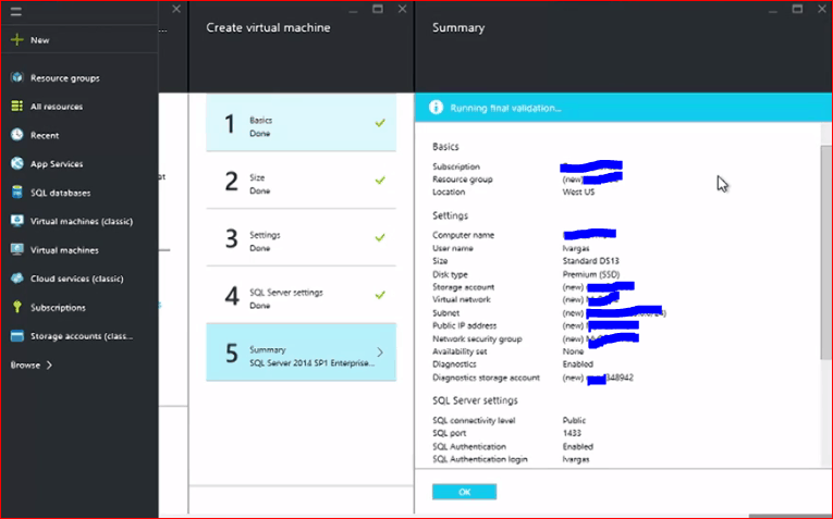 how to install sql server on azure vm