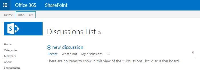 steps to create community site sharepoint 2013 online