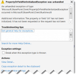 SharePoint 2013 The property or field Url has not been initialized SharePoint online