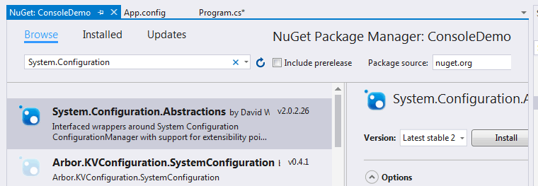 the name configurationmanager does not exist in the current context sharepoint