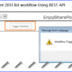 sharepoint 2013 start workflow programmatically javascript
