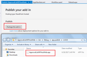 sharepoint online workflow visual studio example