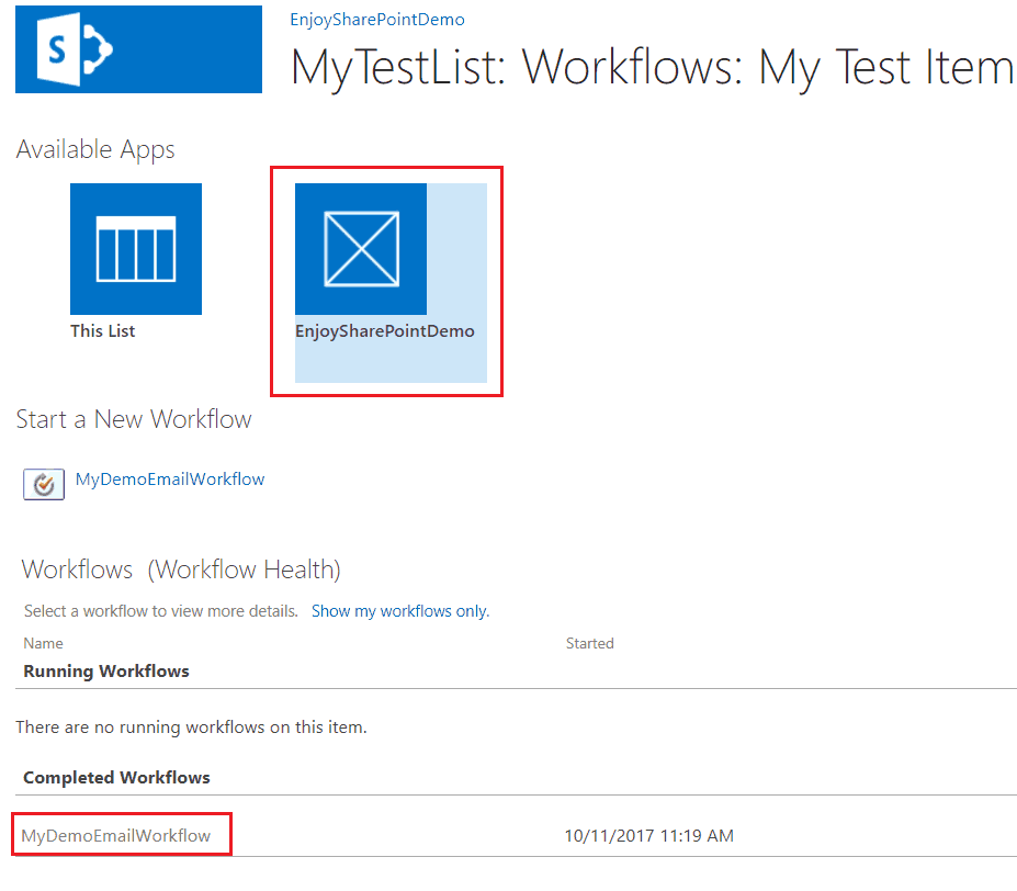 send email using visual studio workflow