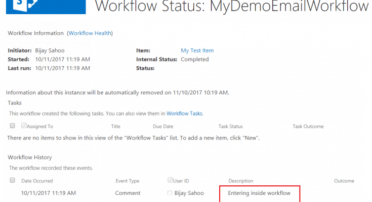 SharePoint online Email visual studio 2015 workflow activitity