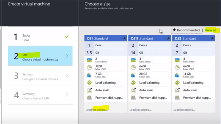 how to create linux virtual machine in azure portal