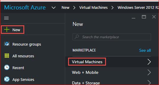 windows azure create linux virtual machine