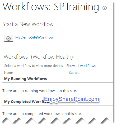 SharePoint Online Site Workflow and Initiation Form Parameters example using SharePoint designer workflow
