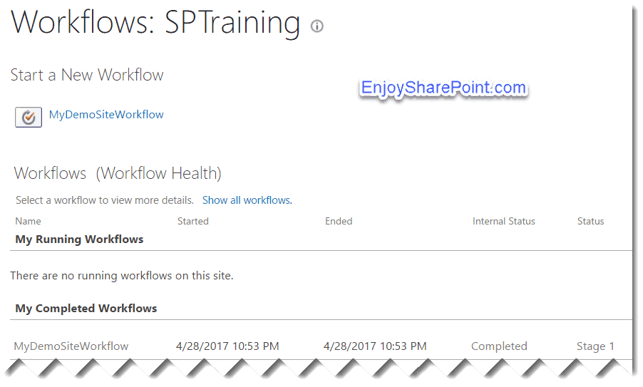 workflow Initiation Form Parameters sharepoint online