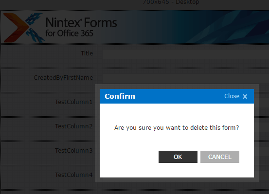 nintex forms for office 365