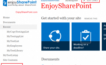 Edit Links Missing in SharePoint 2013 Global and Left Navigation
