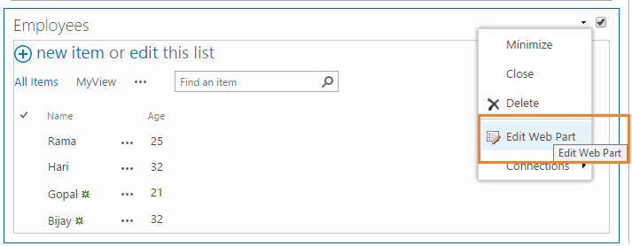 SharePoint designer 2013 List view tools tab missing