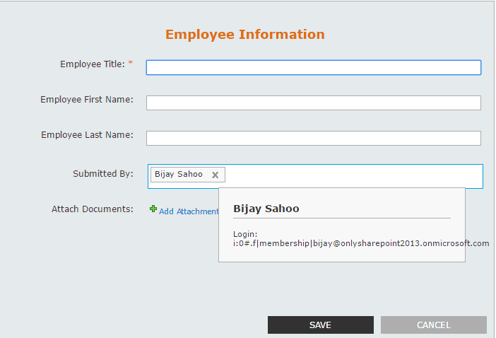 auto populate people picker nintex forms