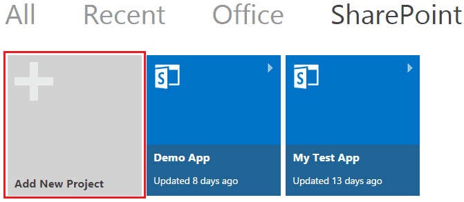 Create SharePoint 2013 Apps using Napa office 365 development tools