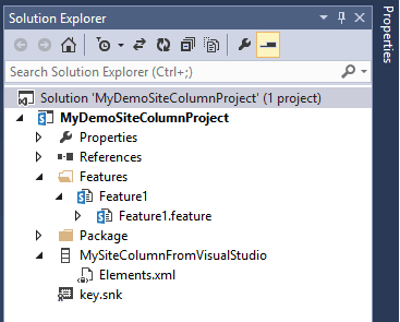 sharepoint 2013 create site column programmatically