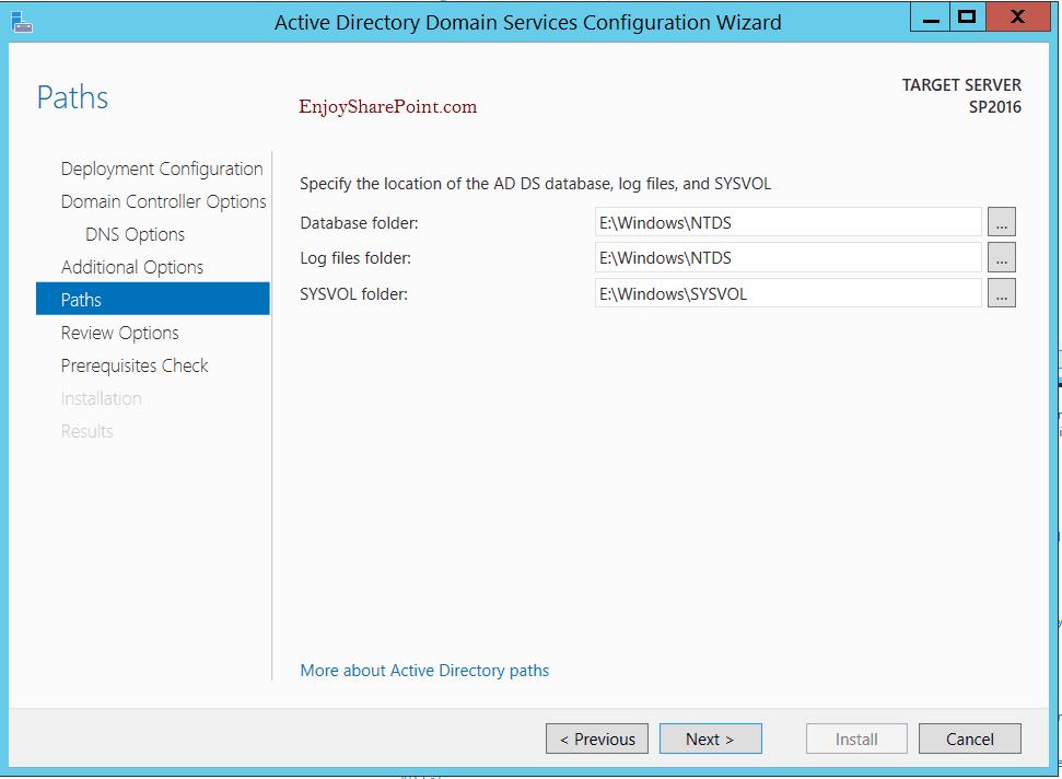 Configure Active Directory Domain Service in Windows Server