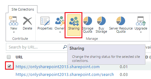 office 365 sharepoint online share with external users