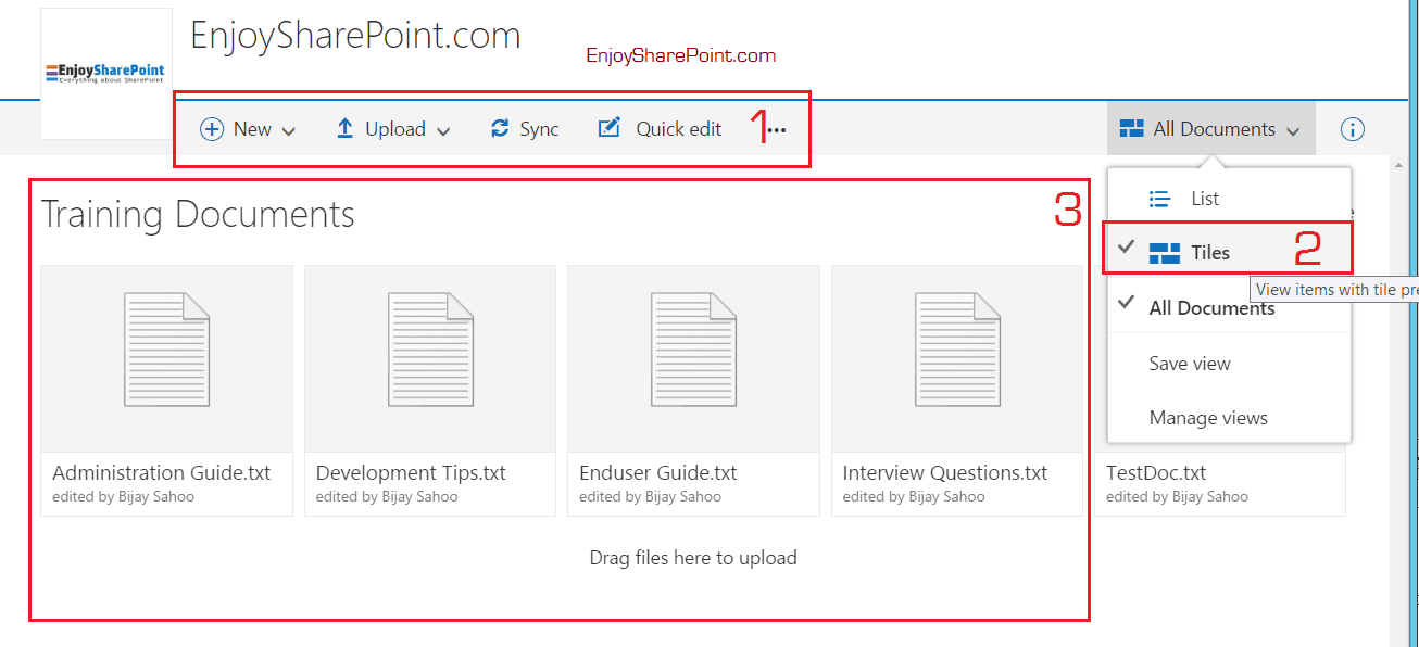 Switch to new document library view in Office 365 SharePoint Online