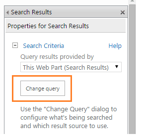 Search content from specific SharePoint 2013 list SharePoint Online