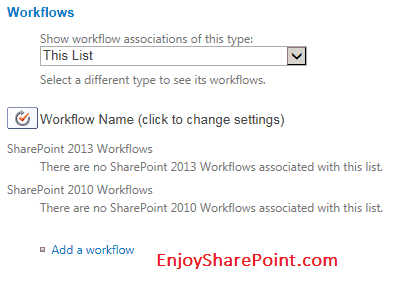 reusable workflow in sharepoint 2013