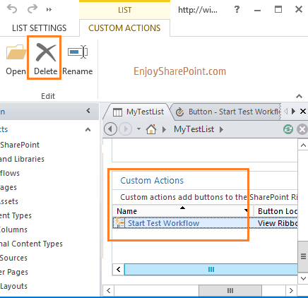 Quick Step in SharePoint 2013