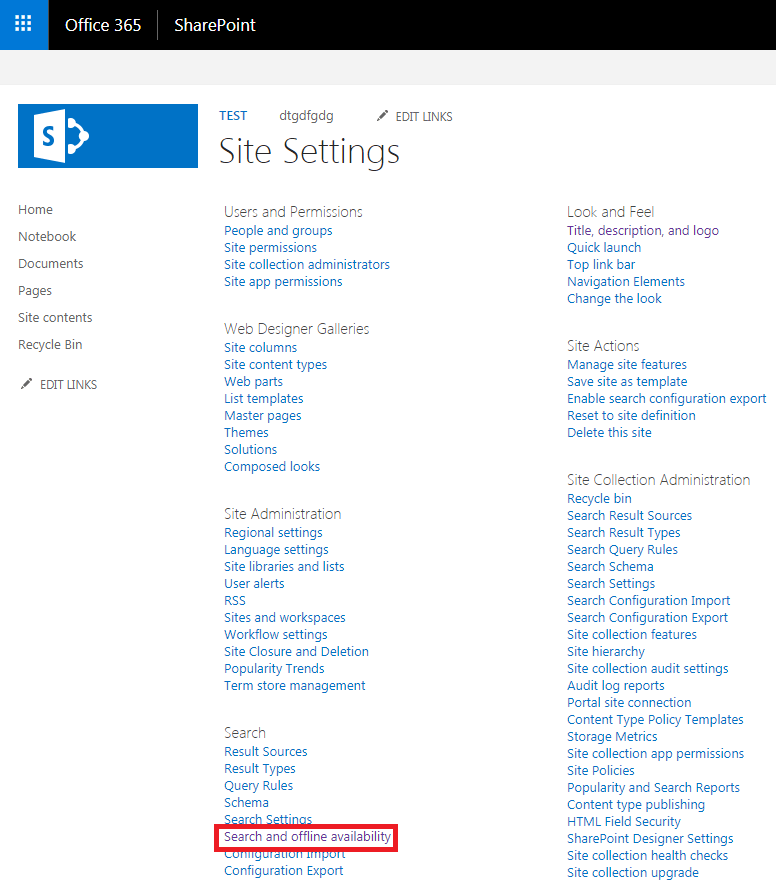 sharepoint online hide sync button document library