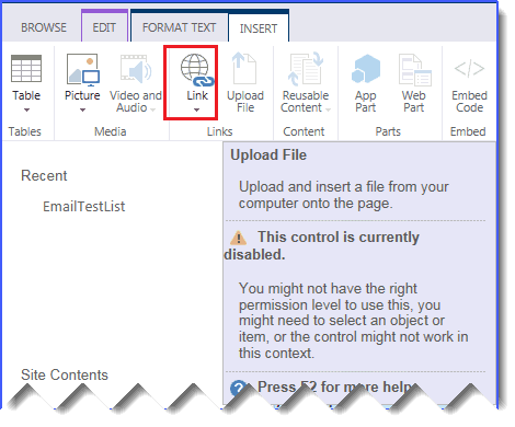 embedded images and files disabled in richtextbox infopath sharepoint 2013