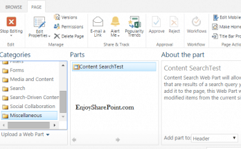 How to Export and Import Web Part in SharePoint 2013 Online?