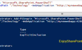 How to create managed path for a web application using PowerShell?