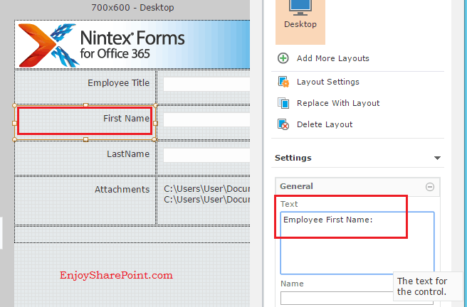 Working with Nintex Forms for Office 365