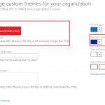 Office 365 Change Navbar color and Change Logo