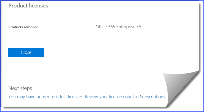 office 365 disable user mailbox