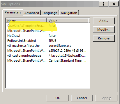 Enable Save site as template using SharePoint designer in SharePoint 2013