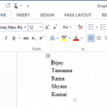 Export SharePoint 2013 List Items to Word Document using SharePoint Server Side Object Model